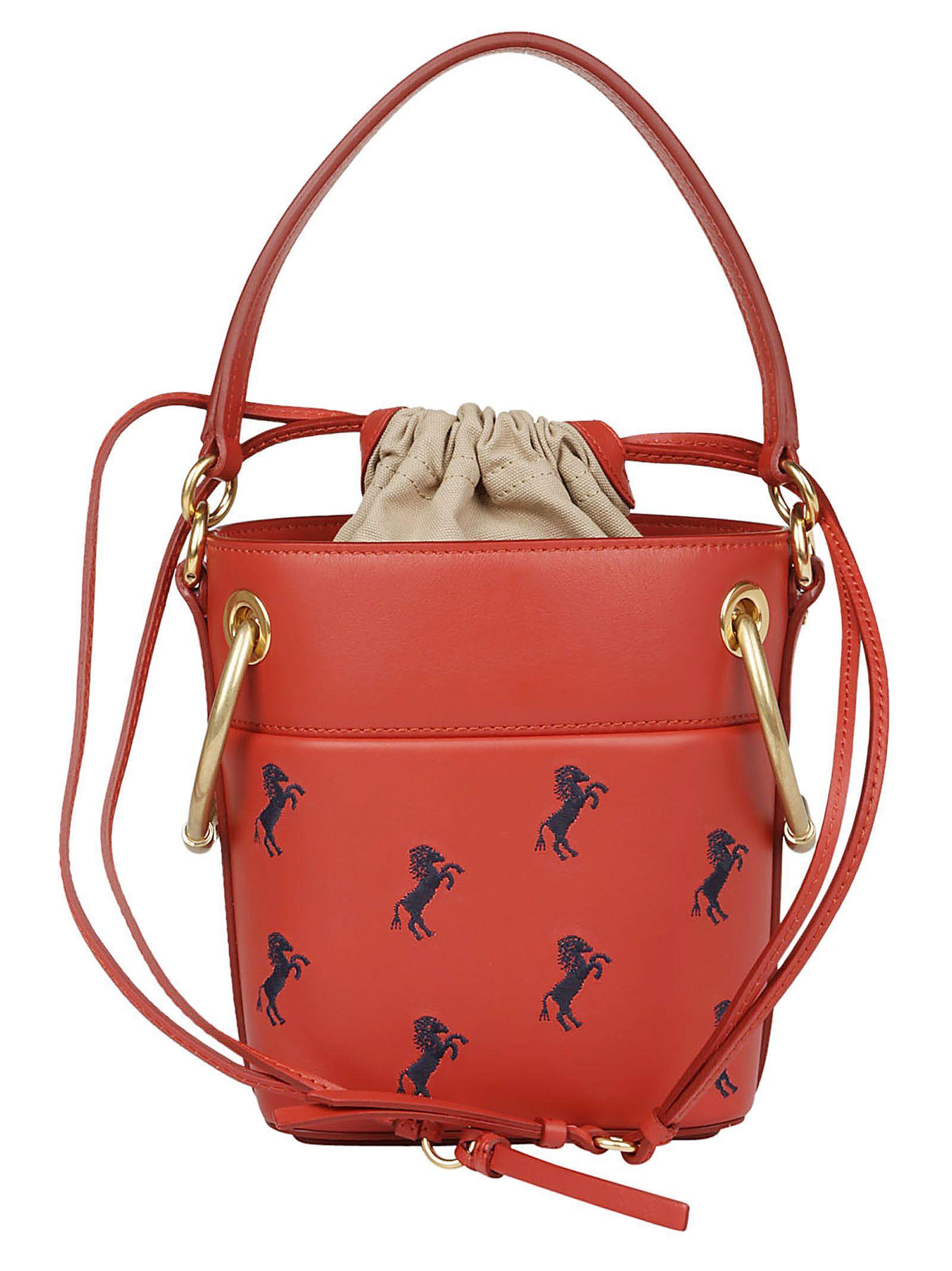 ChloÉ ChloÈ Shoulder Bag In Earthy Red