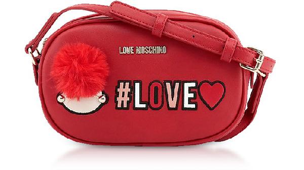 Love Moschino Red Love Crossbody Bag