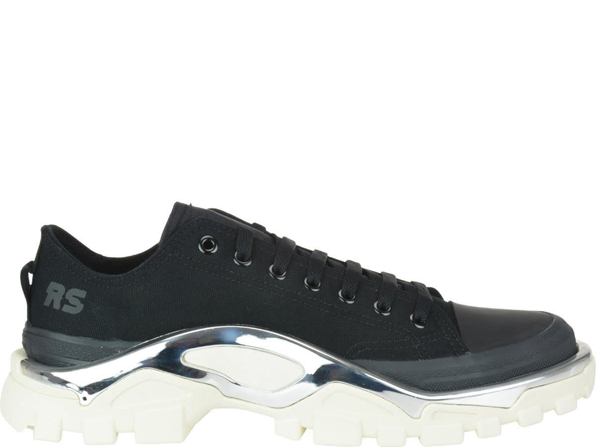 Adidas By Raf Simons Detroit Runner Sneakers In Black