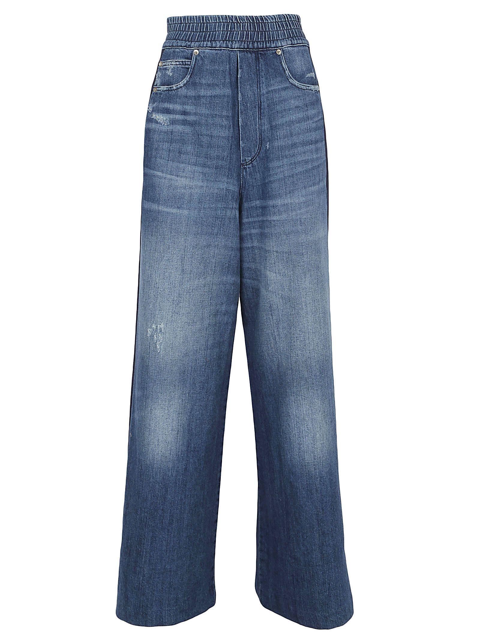 Golden Goose Sophie Jeans In Blue Wash