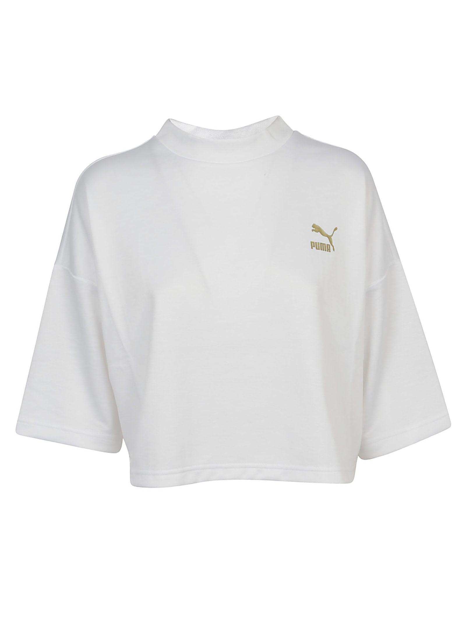 Puma Retro Top In White