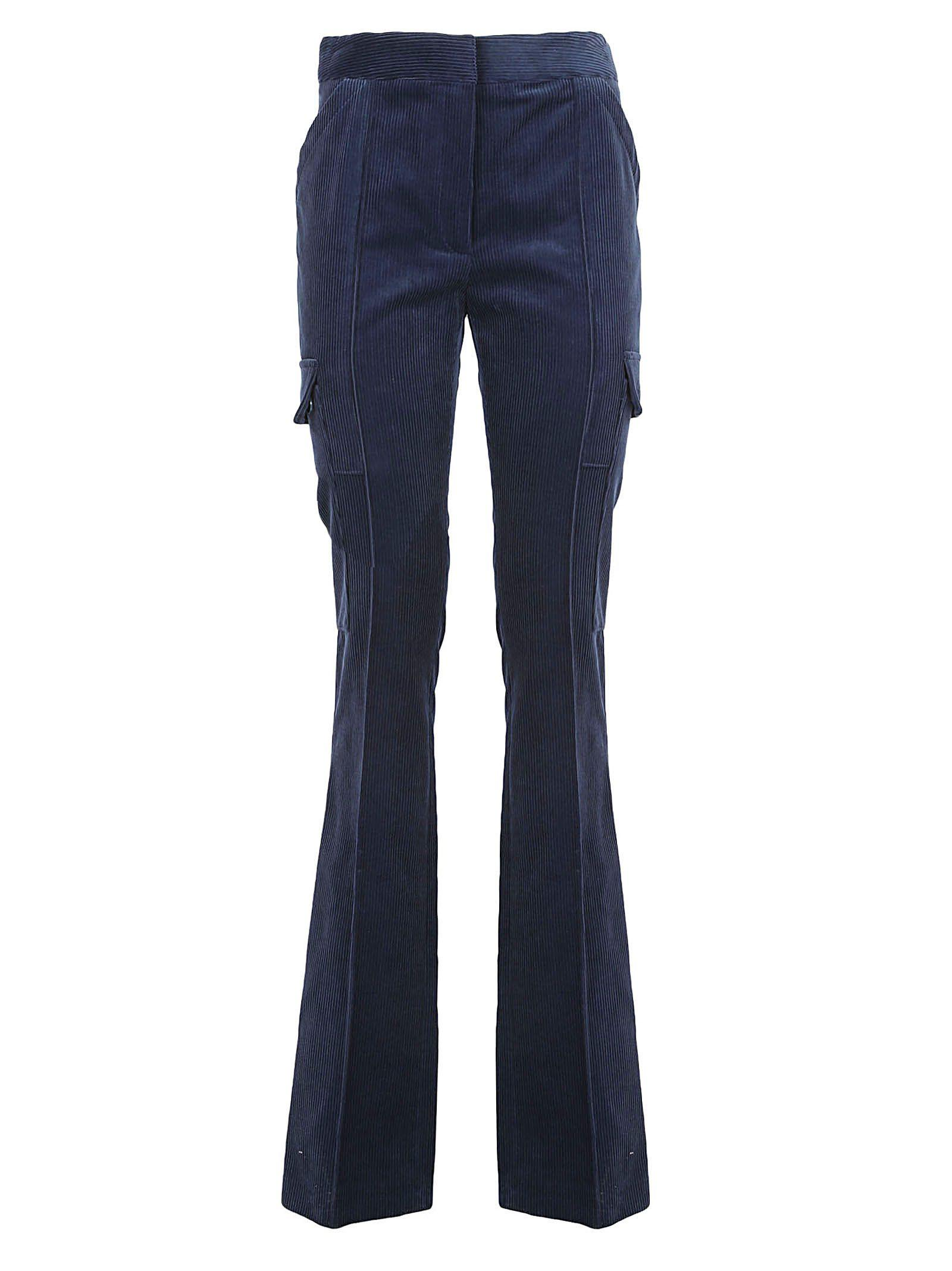Stella Mccartney Pants In Blue Stone