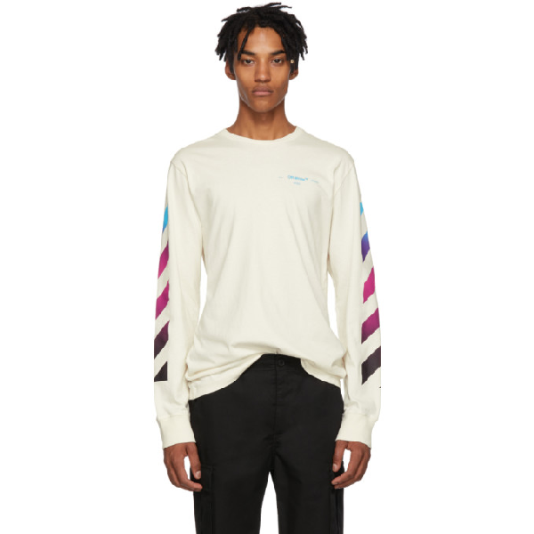 e69b9cdb Off-White Gradient Arrows Jersey T-Shirt In White | ModeSens