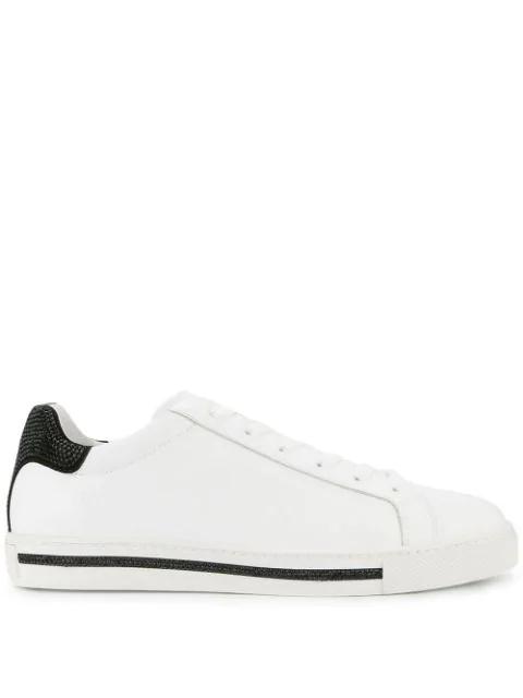 RenÉ Caovilla Xtra Sneakers In V517 White