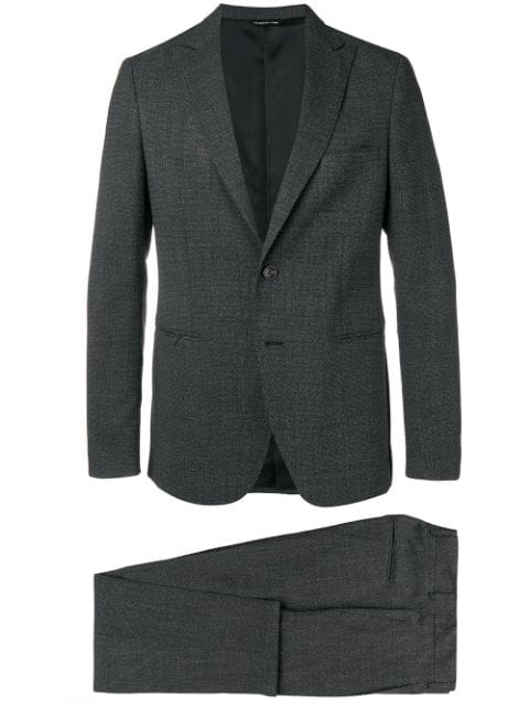Tonello Perfectly Fitted Dinner Suit - Black