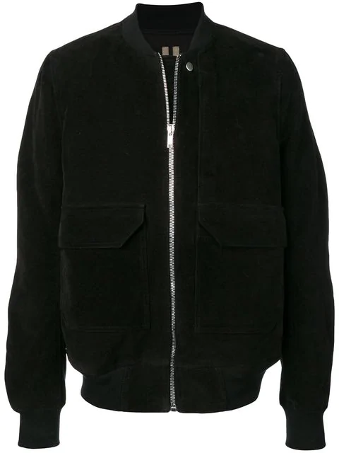 Rick Owens Drkshdw Cop Flight Bomber Jacket - Black