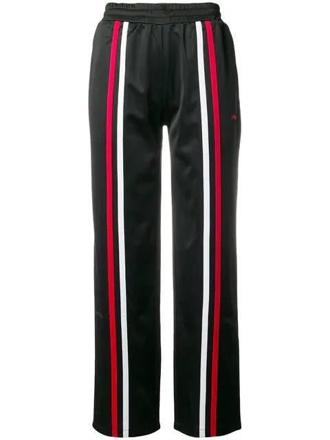 Stussy Striped Track Pants - Black