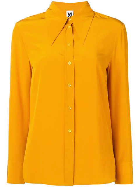 M Missoni Pointed Collar Shirt - Orange