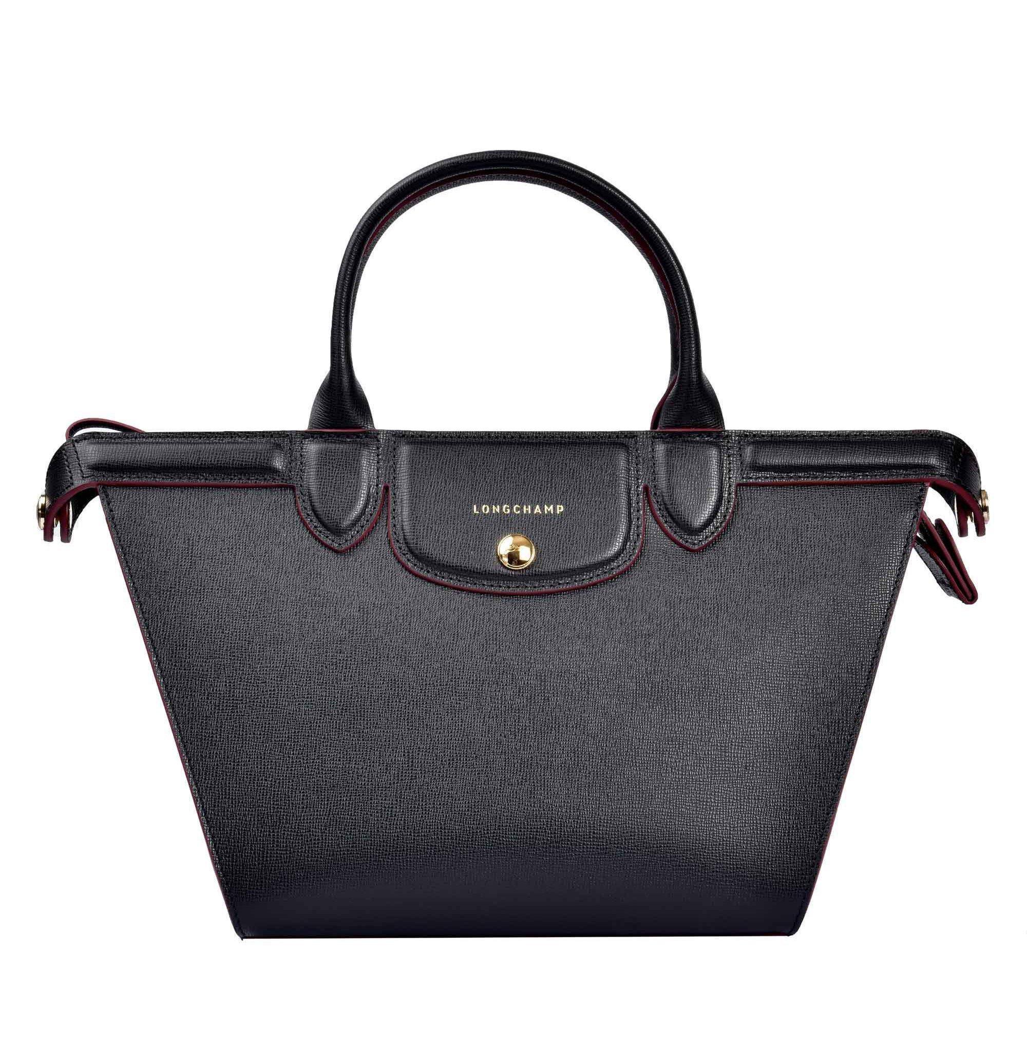 Longchamp Le Pliage Héritage Top In Black