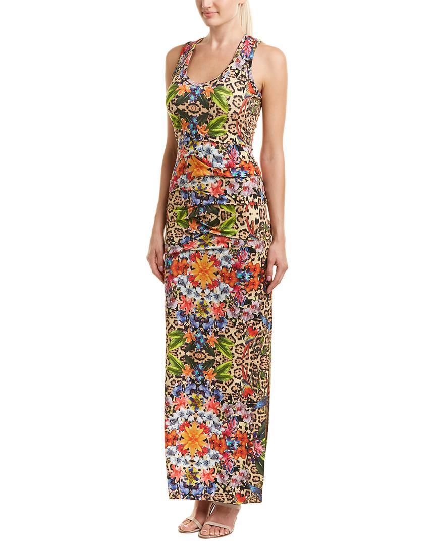 Nicole Miller Maxi Dress In Nocolor