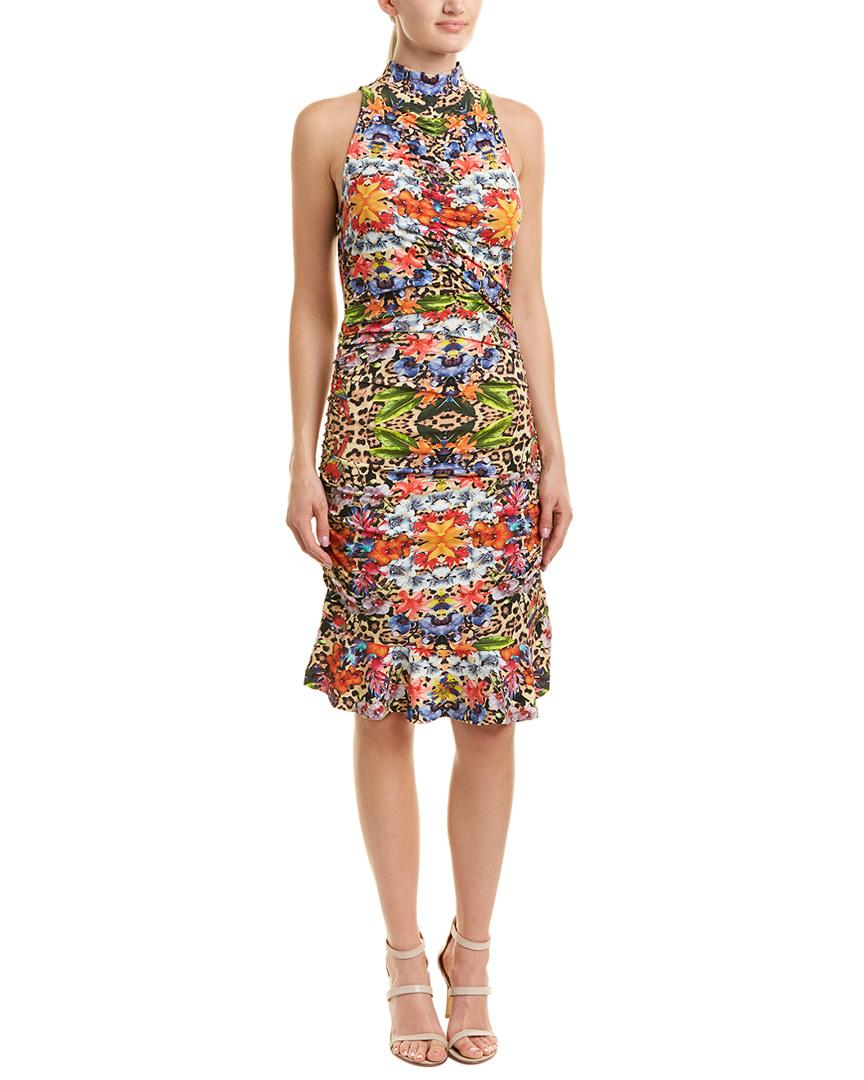 Nicole Miller Sheath Dress In Nocolor