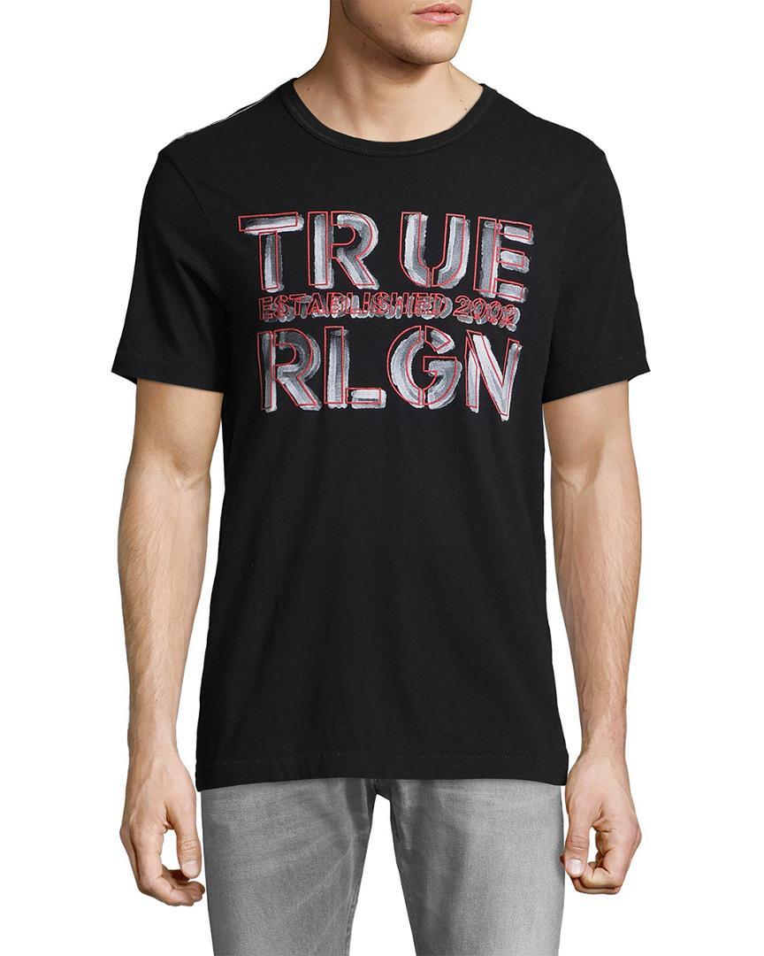 True Religion Established Logo Graphic T In Nocolor