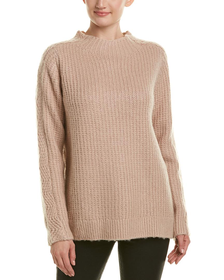 Reiss Anabella Wool In Pink