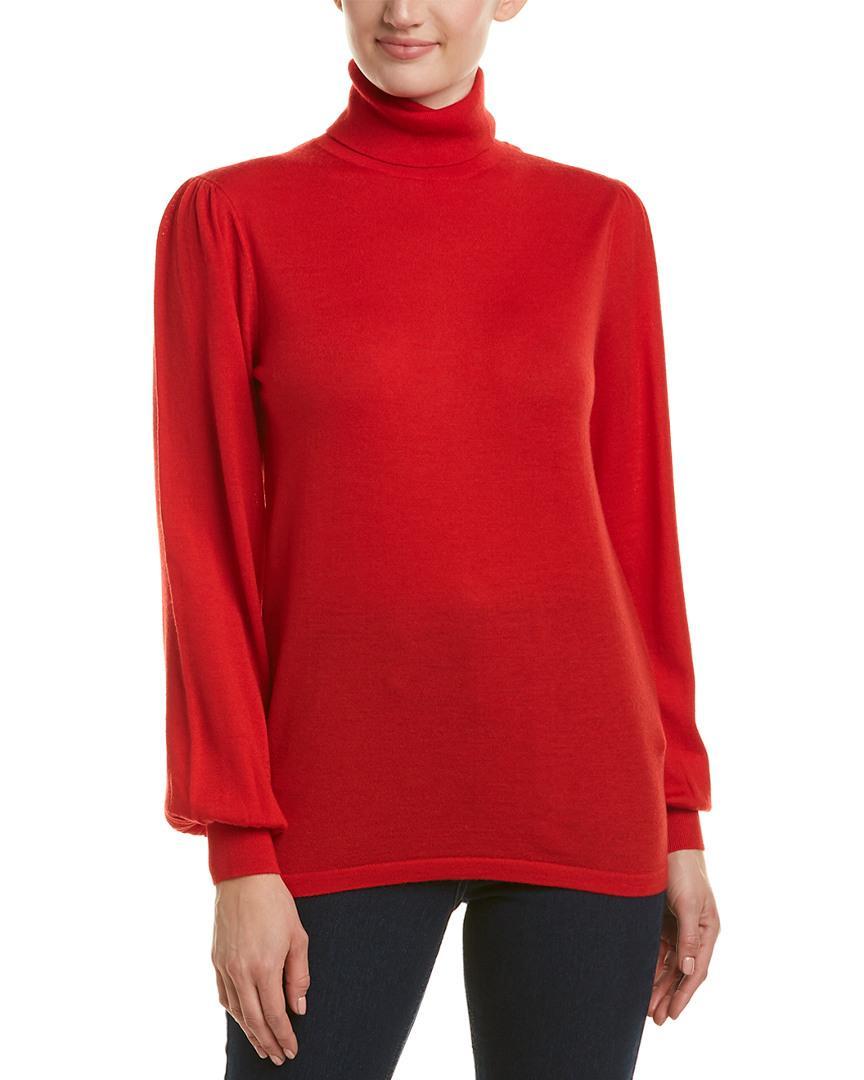Reiss Caroline Wool Sweater In Red