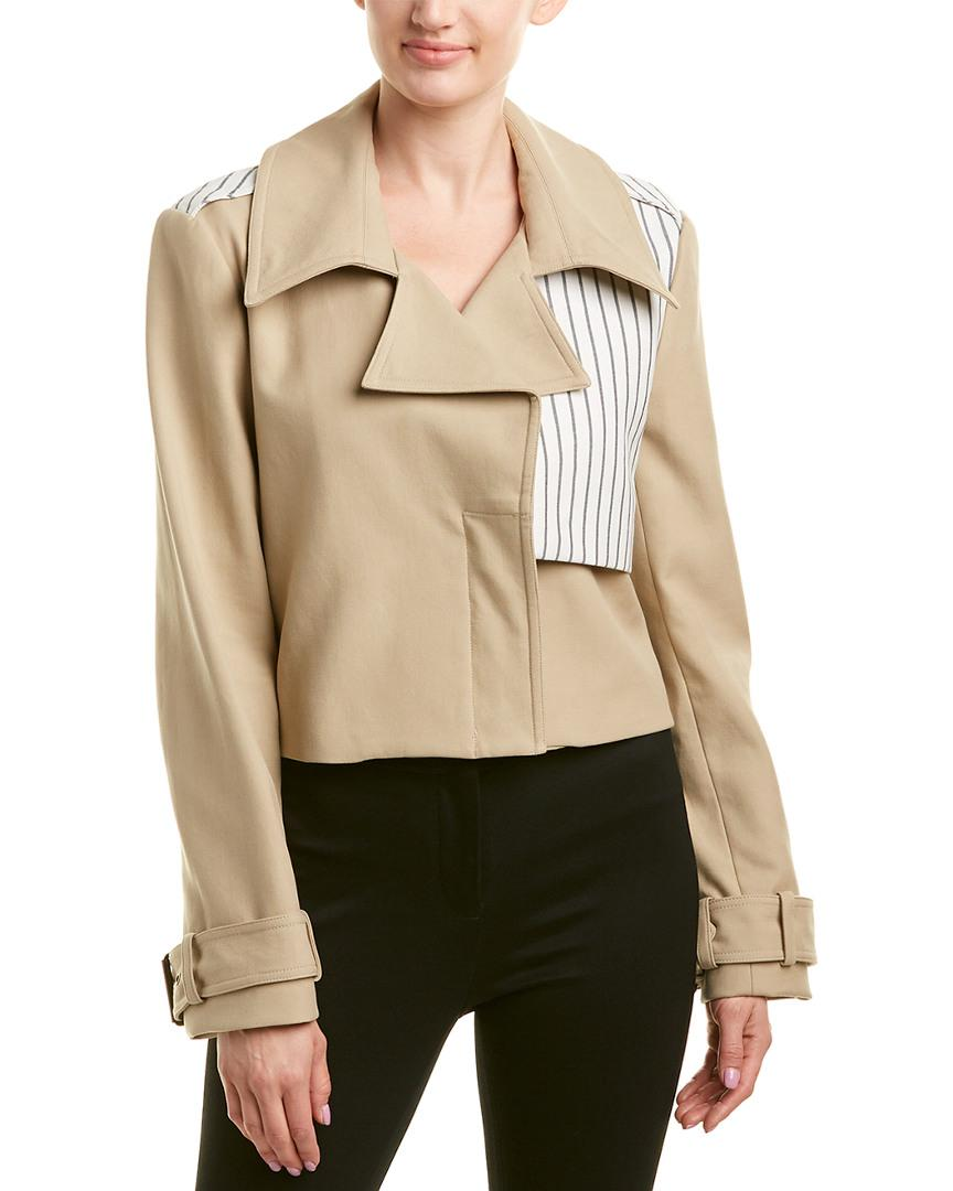 Nicole Miller Artelier Jacket In Nocolor