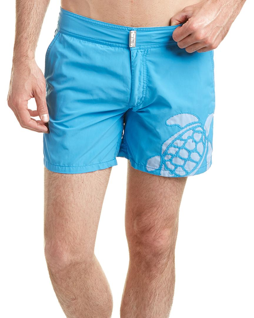 Vilebrequin Moorea Swim Trunk In Blue