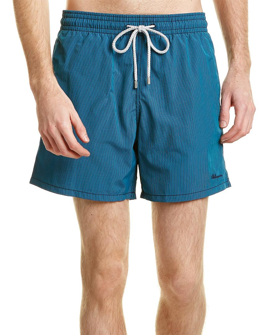 Vilebrequin Morio Swim Short In Blue
