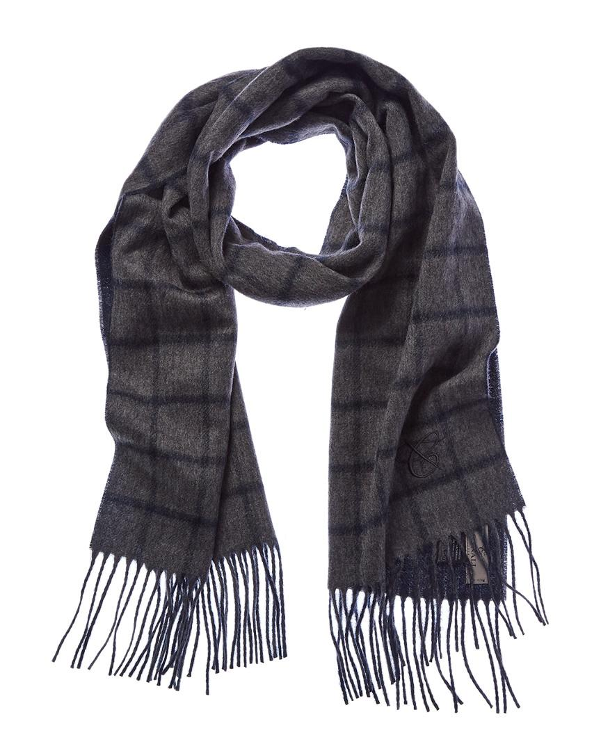 Canali Cashmere Scarf In Grey