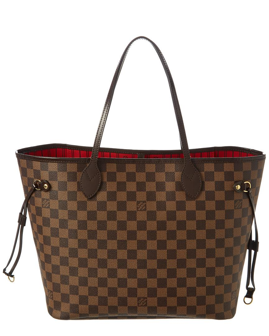 Louis Vuitton Damier Ebene Canvas Neverfull Mm In Nocolor