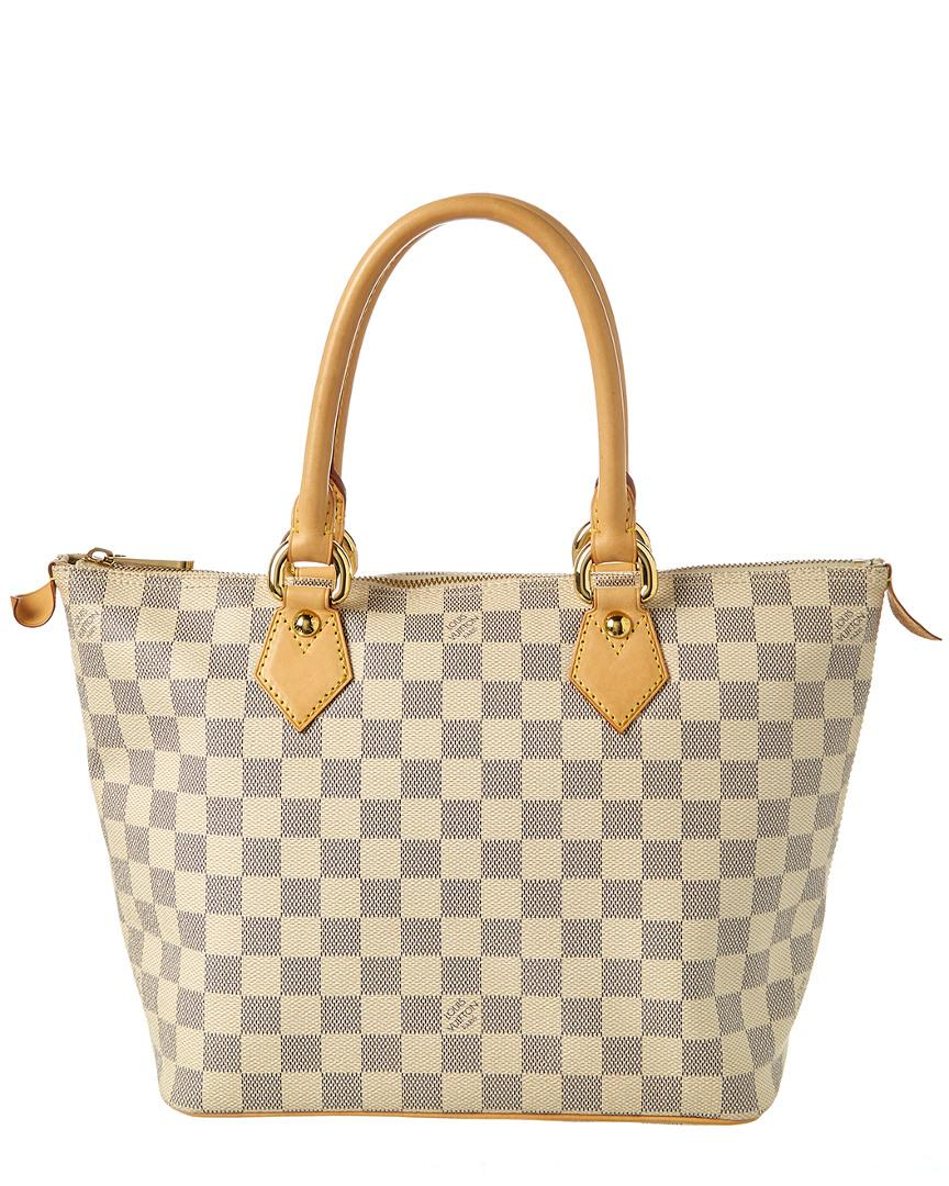 Louis Vuitton Pre-owned: Damier Azur Saleya Pm In Nocolor
