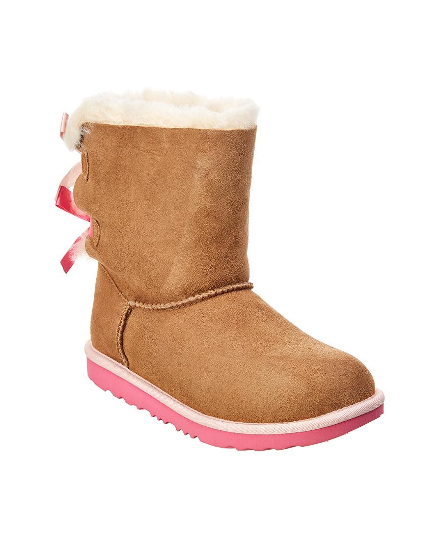 Ugg Bailey Bow Ii Suede Boot In Brown