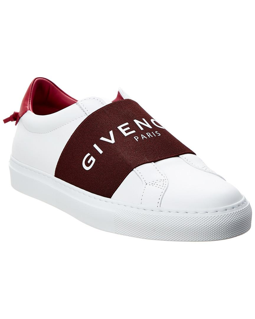 Givenchy Paris Urban Street Leather Sneaker In White