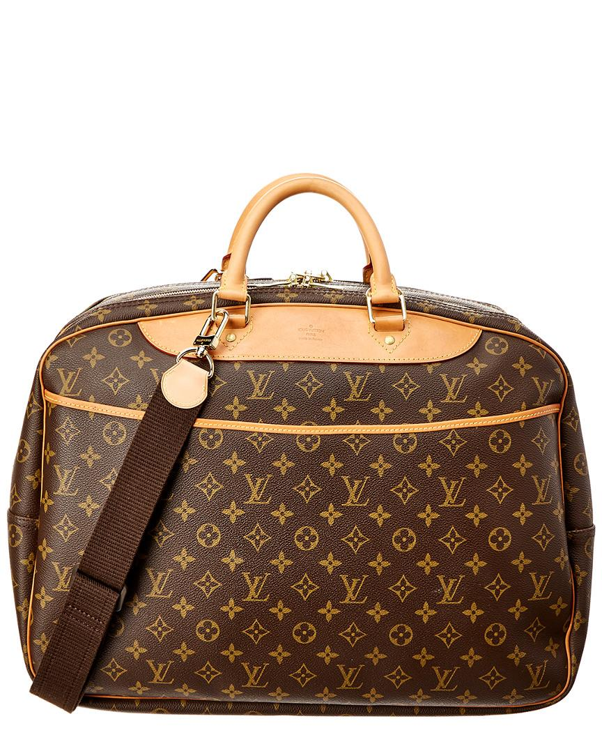 Louis Vuitton Monogram Canvas Alize 2 Poches In Nocolor