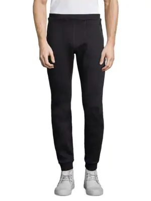 J. Lindeberg Tech Sweat Athletic Pants In Black