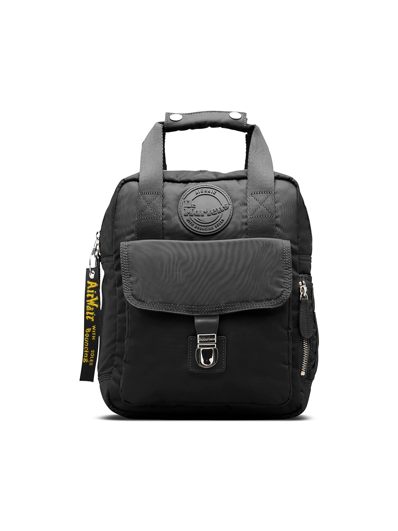 Dr. Martens Small Backpack In Black Nylon. In Nero