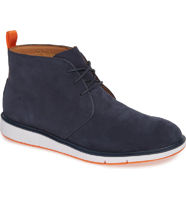 Swims Motion Chukka Waterproof Boot In Navy/ Orange