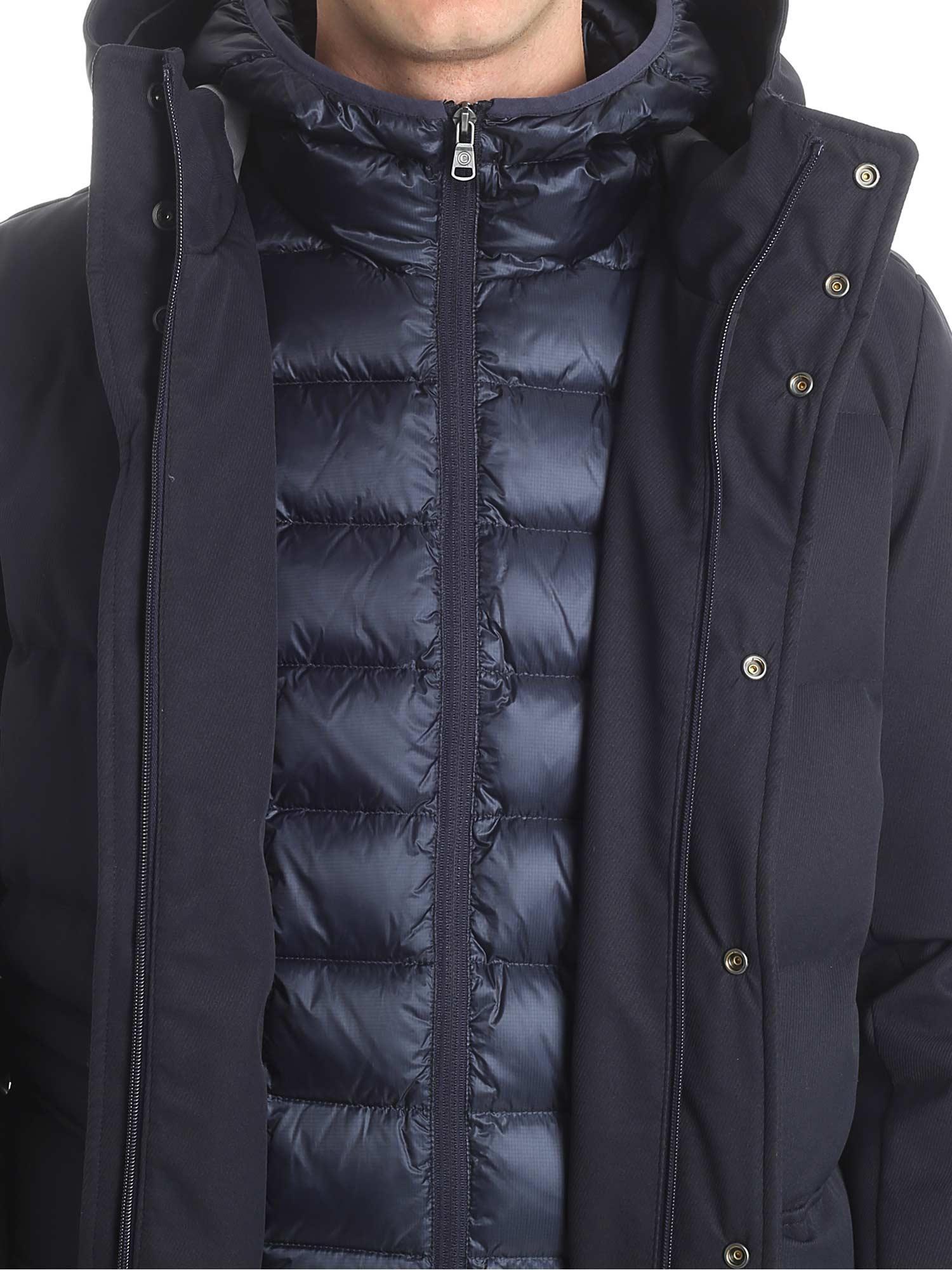 Colmar Riddle Down Jacket In Blue