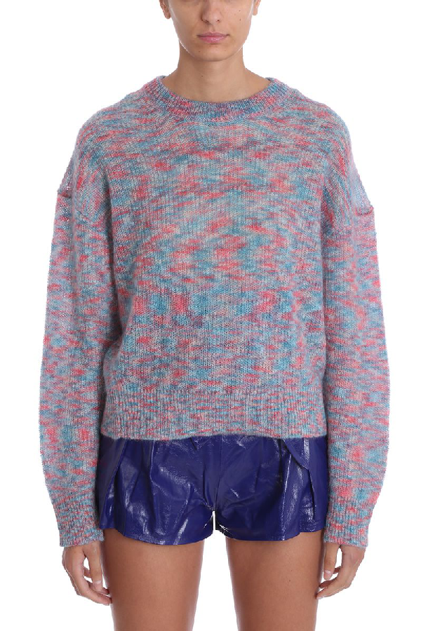 Iro Version Multicolor Wool Sweater Knit Pullover