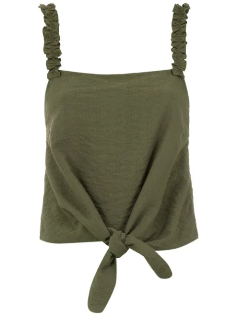 Olympiah Maggiolina Blouse In Green