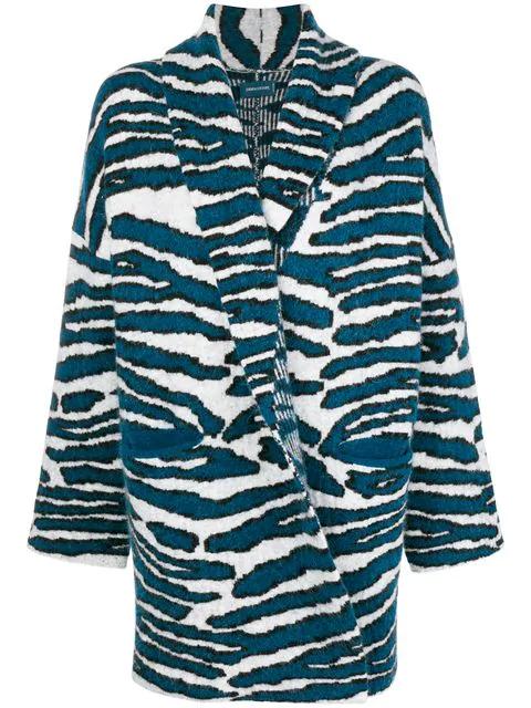 Zadig & Voltaire Zadig&voltaire Mia Oversized Cardigan - Blue