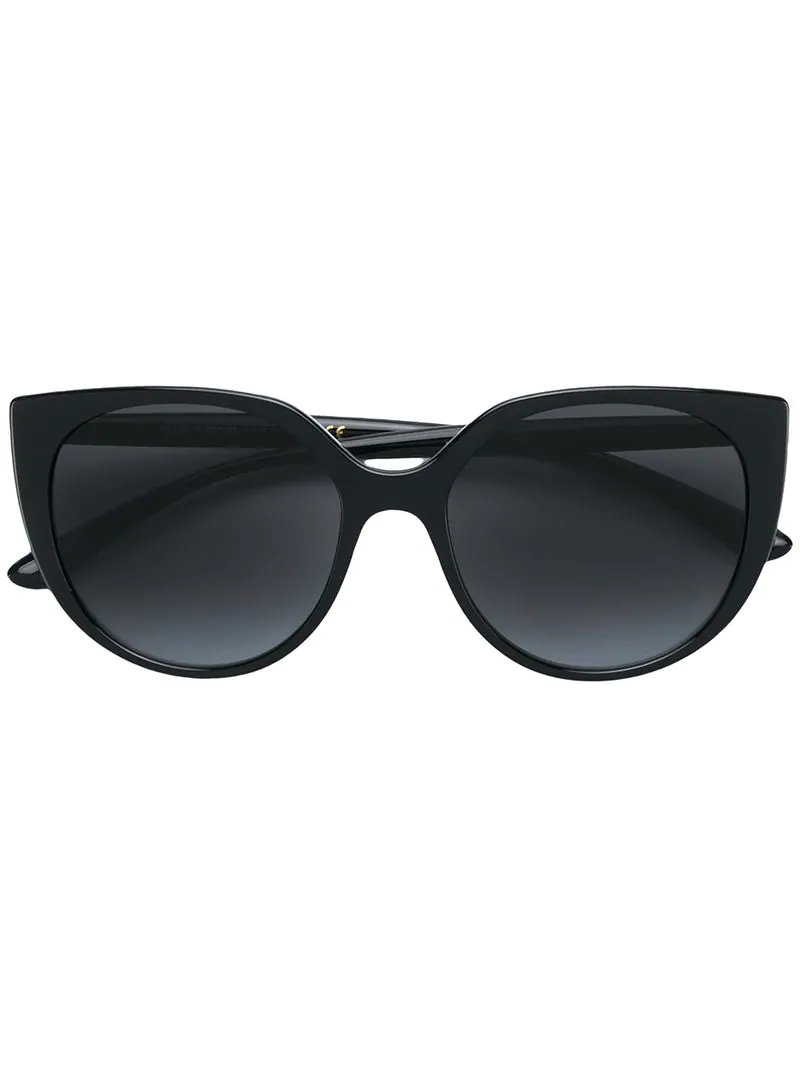 Dolce & Gabbana Eyewear Cat Eye Sunglasses - Black