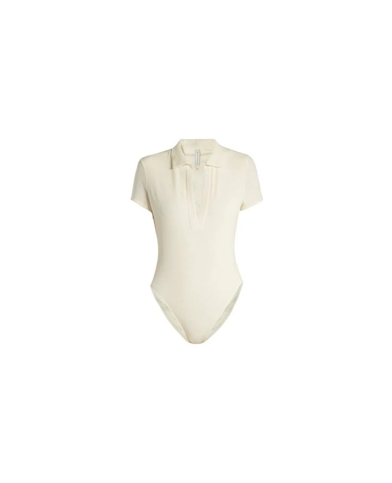 Solid & Striped Ultràchic - : The Maya One-piece Swimsuit In Cream Pique