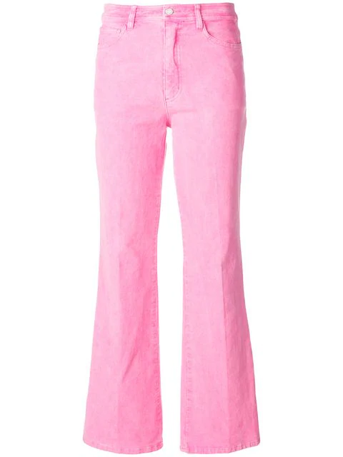 Zadig & Voltaire Zadig&voltaire Corduroy Flared Trousers - Pink