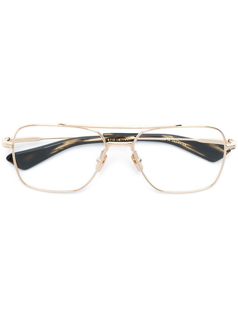 Dita Eyewear Vintage In Gold