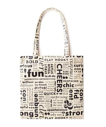 Kate Spade New York  Canvas Book Tote In Nocolor