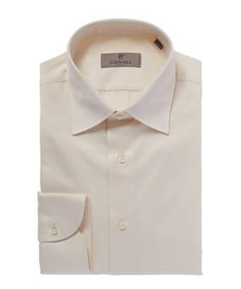 Canali Sartorial Slim Fit Dress Shirt In White