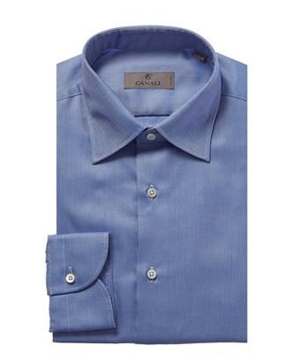 Canali Dress Shirt In Blue