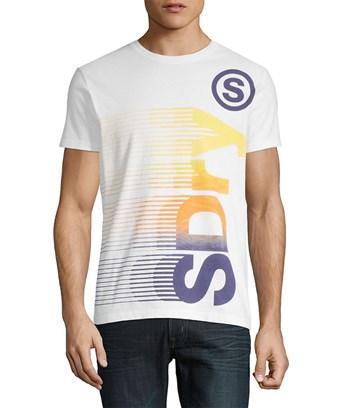 Superdry Logo Vertical T-shirt In Nocolor