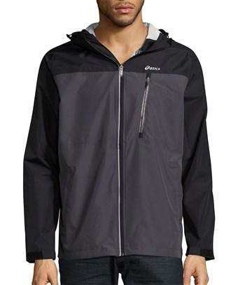 Asics Hooded Long-sleeve Jacket In Nocolor