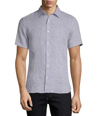 Orlebar Brown Meden Tailored Sport Shirt In Nocolor