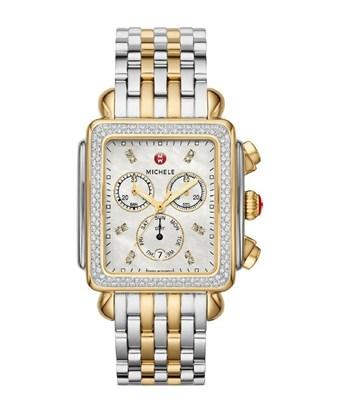 Michele Women's Deco Diamond Watch In Nocolor