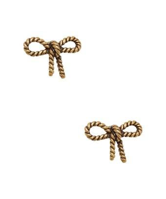 Marc By Marc Jacobs Jewelry Rope Bow Studs In Nocolor