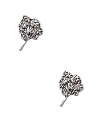 Marc By Marc Jacobs Jewelry Crystal Tree Studs In Nocolor