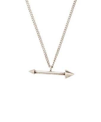 Isabel Marant Arrow Necklace In Nocolor