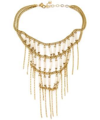 Vanessa Mooney The Magdalena Layer Necklace In Nocolor