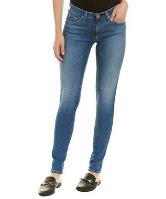 Ag Jeans The Legging 18 Years Heart Breaker Super Skinny Leg In Blue
